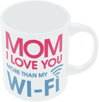 PosterGuy Love you more than Wifi Mother,s Day Gift Ceramic Mug