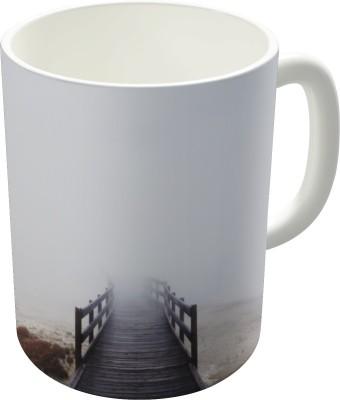 Dreambolic Foggy Walkway Ceramic Mug
