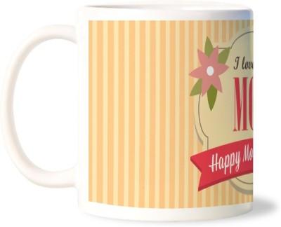 Lovely Collection I Love You Mom Porcelain Mug