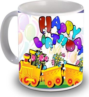 Print Helllo Happy Birthday R216 Ceramic Mug