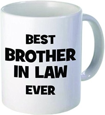 Rikki Knight LLC Knight Best Brother in Law Ever 11 oz Ceramic Coffee  Cup Ceramic Mug