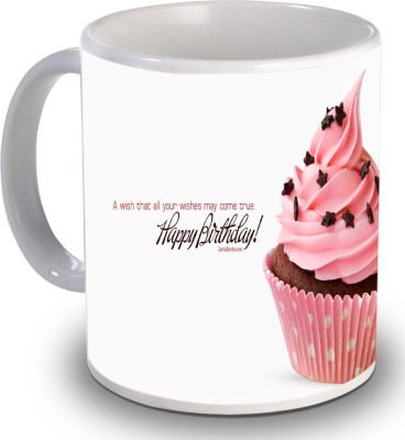 Print Helllo Happy Birthday R170 Ceramic Mug