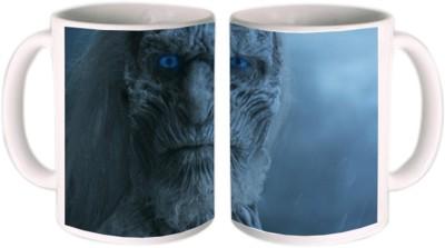 Shopkeeda White Walker Ceramic Mug