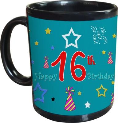 Sajawat Homes 16th Happy Birthday Coffee Ceramic Mug