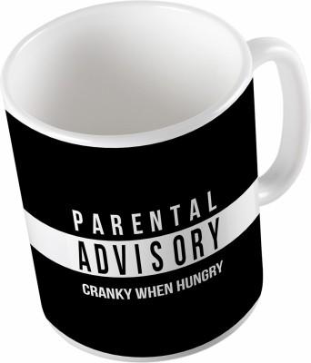 Uptown 18 Parental Advice Ceramic Mug