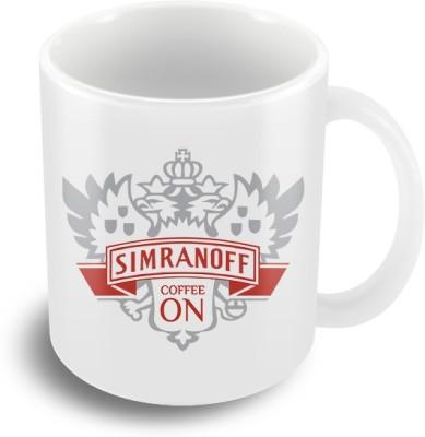 Keep Calm Desi Simran Off Coffee  Ceramic Mug