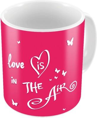 Little India Cute Designer Romantic Printed Coffee s Pair 666 Ceramic Mug