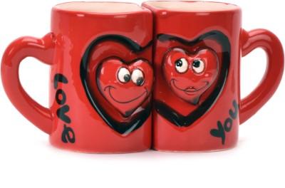 ANNI CREATIONS KissMe Ceramic Mug