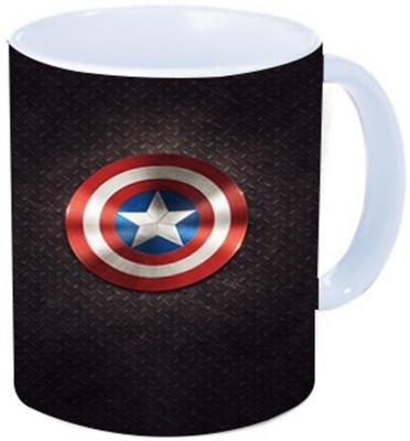 Rawkart Marvel Print Ceramic Mug