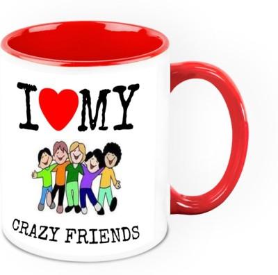 HomeSoGood You Are Worlds Best Friend Ceramic Mug