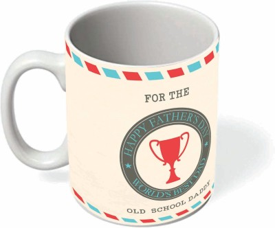 Printelligent father's day design 4 Ceramic Mug