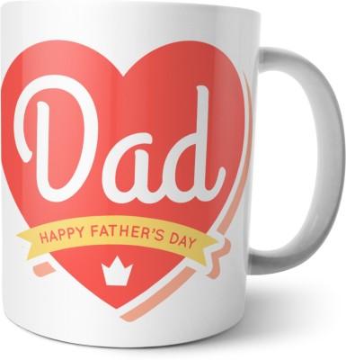 Chiraiyaa Happy Fathers Day - Best Father in the world Ceramic Mug