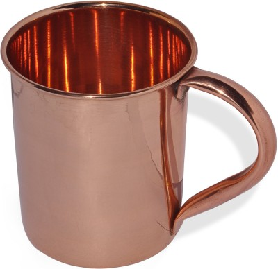 Dakshcraft Pure Copper Moscow Mule Lacquered Finish Copper Mug