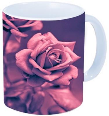 Rawkart Purple rose Ceramic Mug