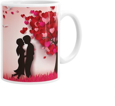 Hainaworld Animated Couples Coffee  Ceramic Mug