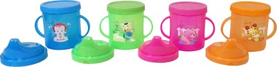 CSM Combo Of 4 Kids Sipper Cup Plastic Mug