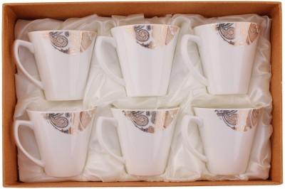White Gold 3306-124G Porcelain Mug
