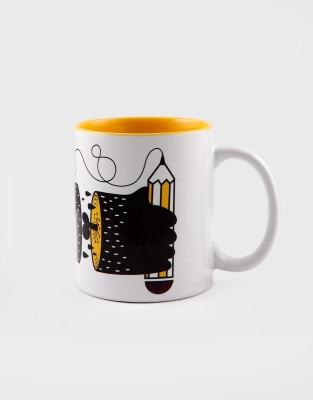 Kulture Shop Kultureshop Papercuts  Ceramic Mug