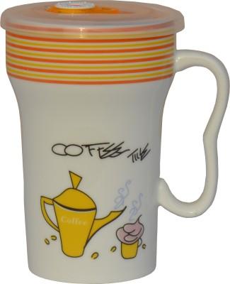 NEOS U Handle Coffee  & Sipper Ceramic Mug
