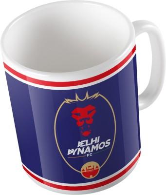 Delhi Dynamos F.C. ddfc03mg Glass Mug