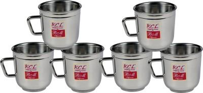 KCL Eco Plain 6pc Stainless Steel Mug