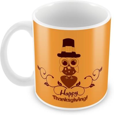AKUP happy-thanks-giving Ceramic Mug