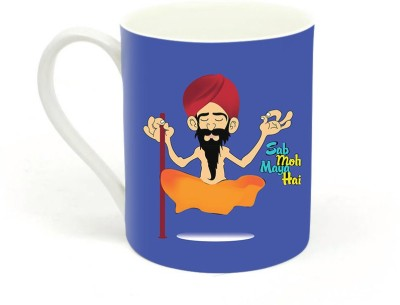 Sowing Happiness Sab Moh Maya Hai Ceramic Mug