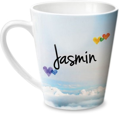Hot Muggs Simply Love You Jasmin Conical  Ceramic Mug