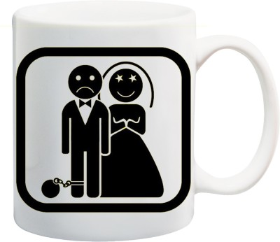 Awwsme Husband Wife  Bone China Mug