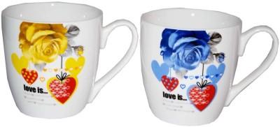 SNYTER Love is Yellow & Blue  Set Ceramic Mug