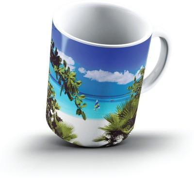 Ucard MaundayS Bay Anguilla2472 Bone China, Ceramic, Porcelain Mug