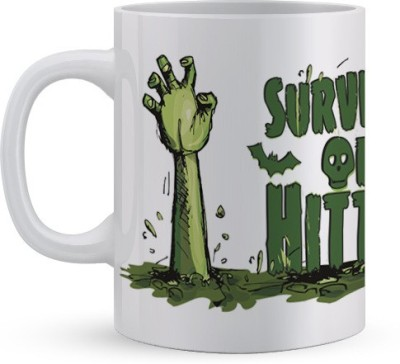 Utpatang Survival of the Hittest Ceramic Mug
