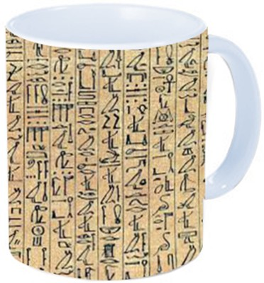 Rawkart egyptian pattern Ceramic Mug