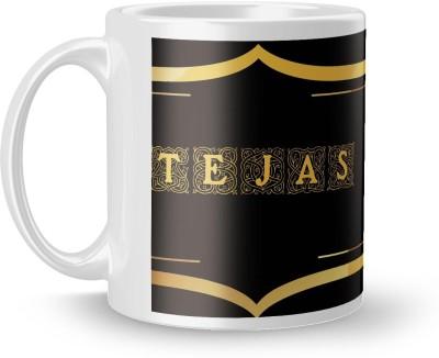 posterchacha Tejas Name Tea And Coffee  For Gift And Self Use Ceramic Mug