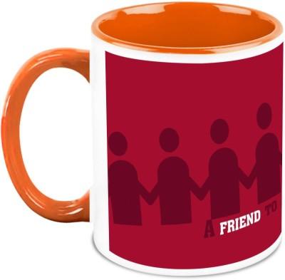 HomeSoGood Less Friends Better Life Ceramic Mug