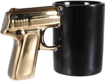 Emerge Golden Gun Ceramic Mug