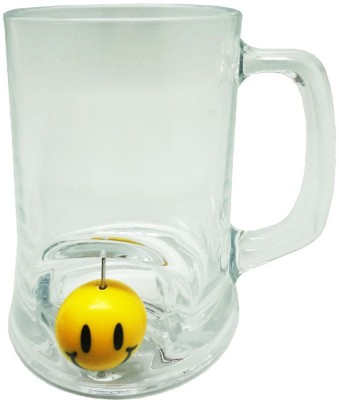 Tuelip GP-3DBG-7003-Smiley Glass Mug