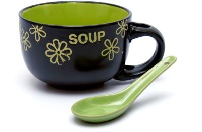 Woodenclave Aroma- A soup (Green) Ceramic Mug