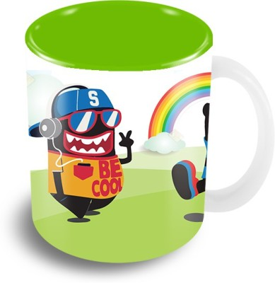 Thecrazyme Monsters Be Cool Coffee Ceramic Mug
