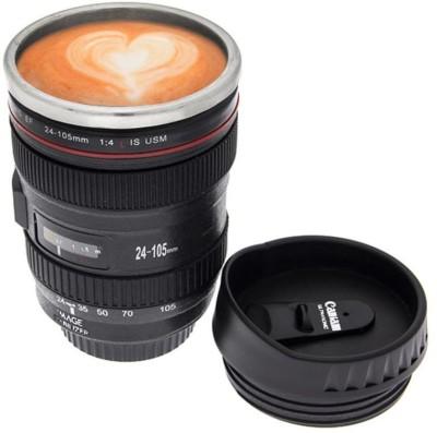 DIZIONARIO Camera Lens Coffee  400 ML for Picture Perfect Morning Coffee Plastic Mug