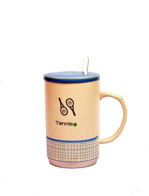 Enfin Homes Tennis Porcelain Mug