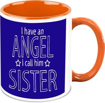 HomeSoGood My Sister My Angel Ceramic Mug