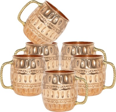 AsiaCraft MOSCOWMUG010-6 Copper Mug