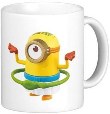 G&G Minion Hula Hoop Ceramic Mug