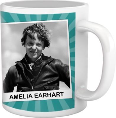 Tiedribbons My Daughter,My Pride Collection_Amelia Earhart Ceramic Mug