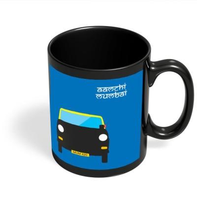 PosterGuy Aamchi Mumbai Quirky Taxi Ceramic Mug