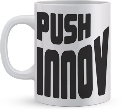 Utpatang Push Innovation Ceramic Mug