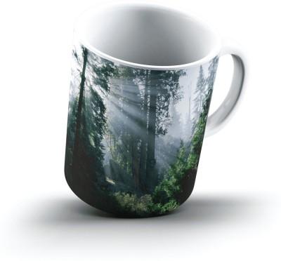 Ucard Landscape2552988 Bone China, Ceramic, Porcelain Mug