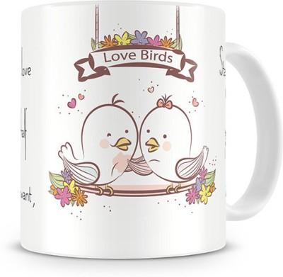 Print Haat Forever in Love Ceramic Mug