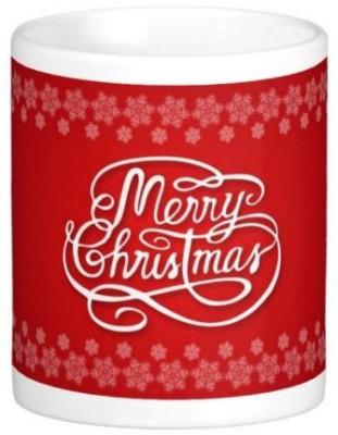 Easyhome Christmas Wishes 350 ml Ceramic Mug